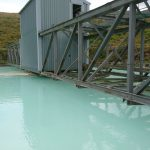 Processing the kaolin - settling tank