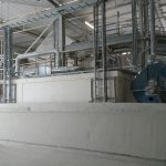 Processing the kaolin - drying facility