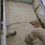 Processing the kaolin - morning porridge