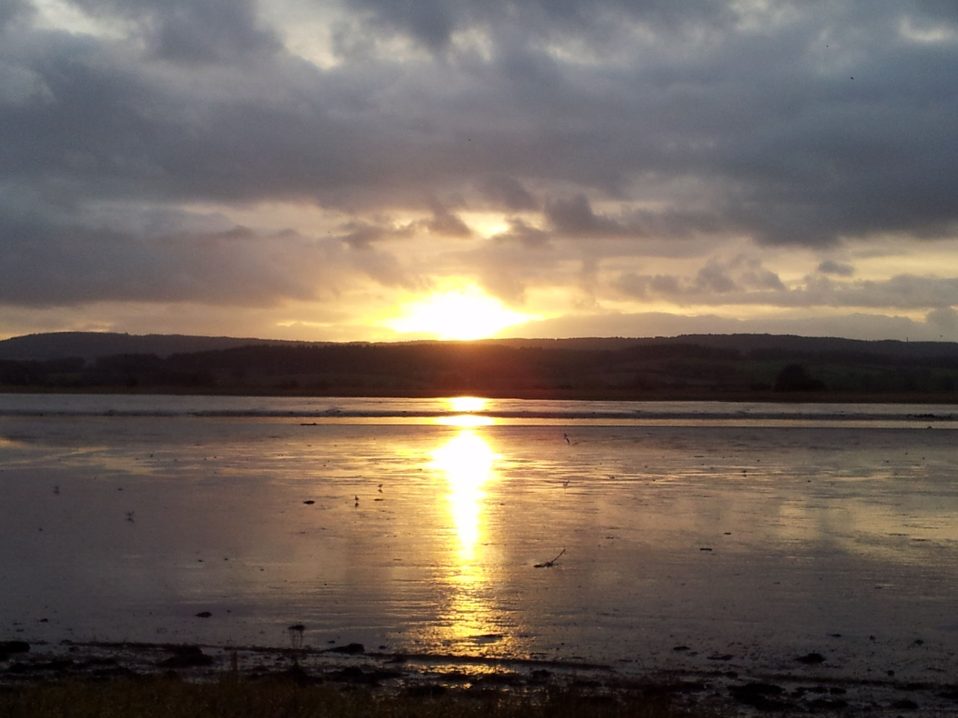 View over the estuary at Topsham, Exeter