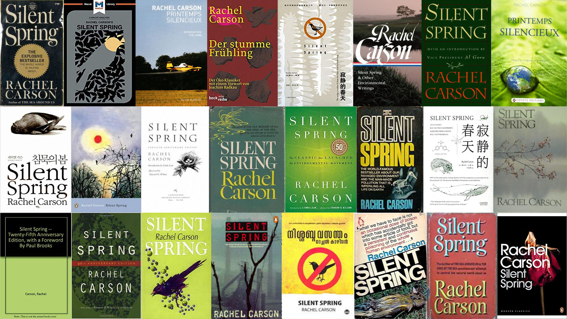 """Listening to Silent Spring"""