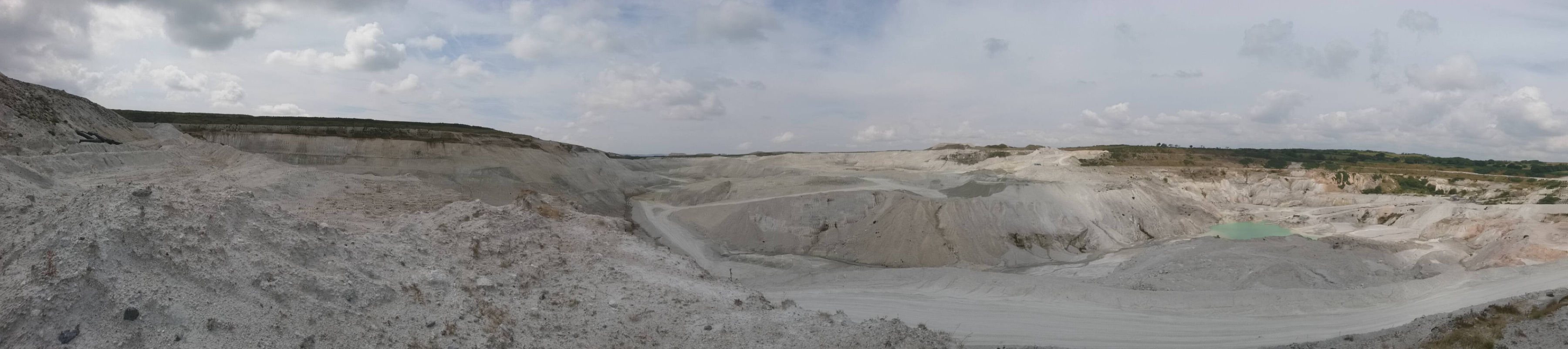 Panorama at Headon & Hemerdon quarries