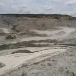 The kaolin slurry river