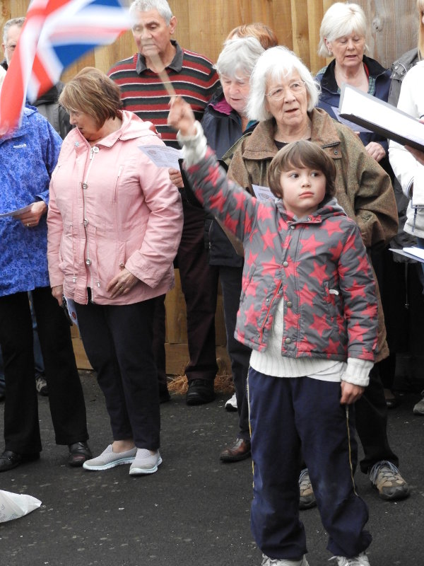 Audience participation in Land of Hope and Glory