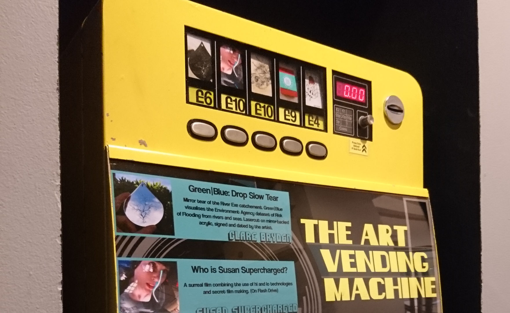 The Art Vending Machine, November 2017