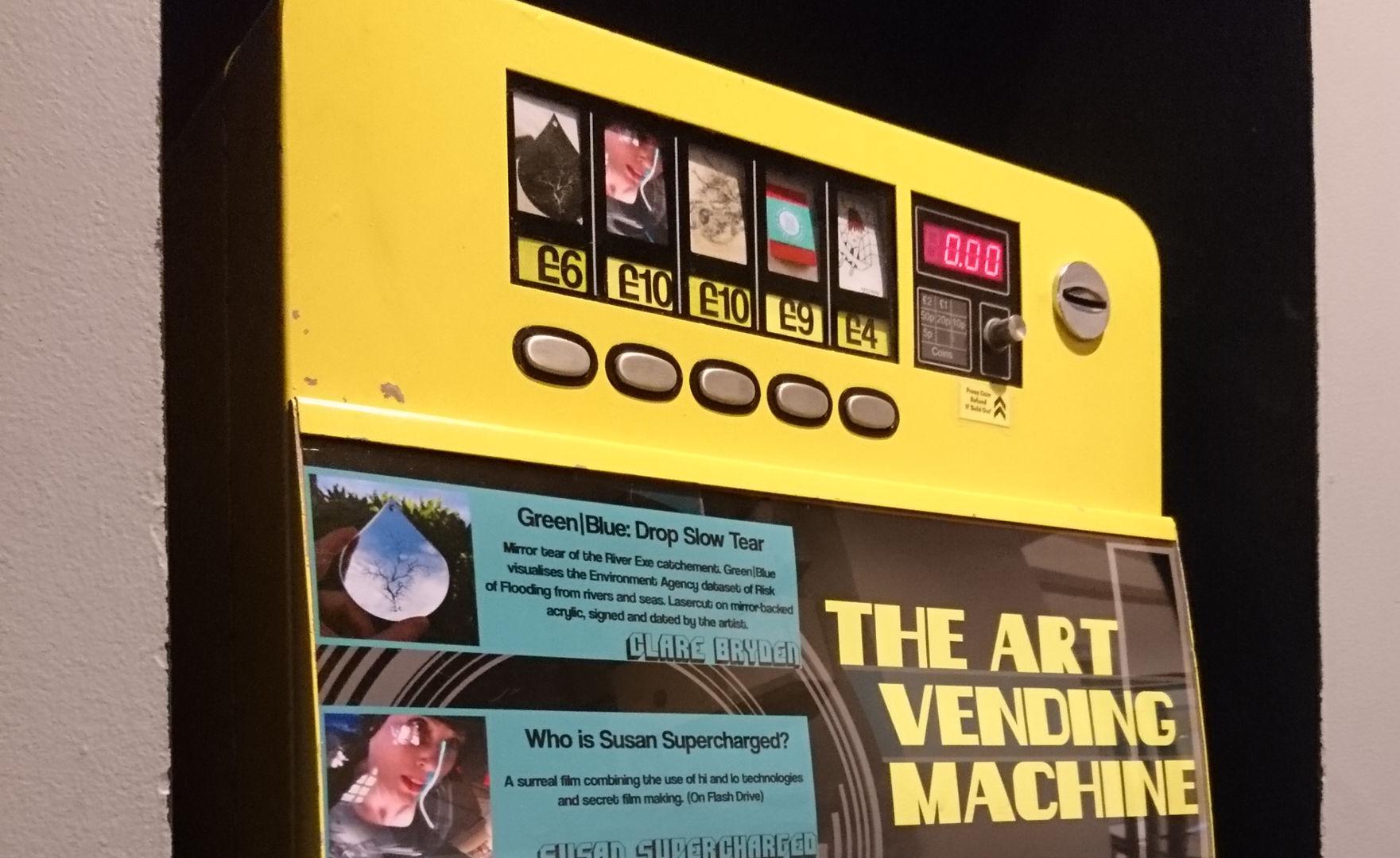 The Art Vending Machine, November 2017