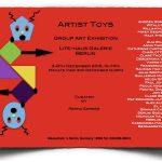 """Artist Toys"" poster, Berlin 2016"