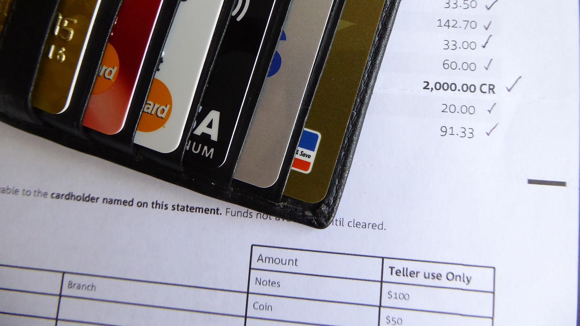 Bank statement. Photo credit: lcb on Pixabay