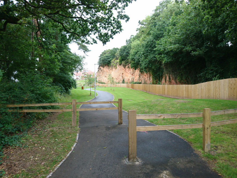 Pockets of green space: Bishop's Court quarry
