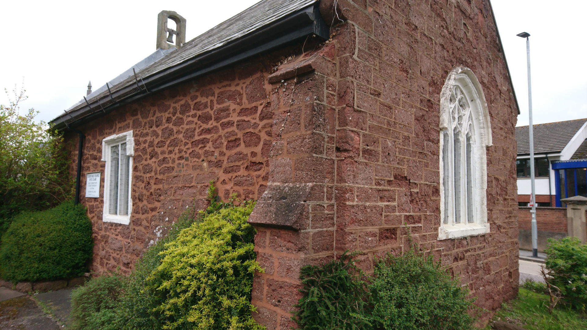 C is for St Clare's Chapel