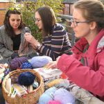 The Met Office knitting group shared their crafting skills, and Freefall embarked on crochet