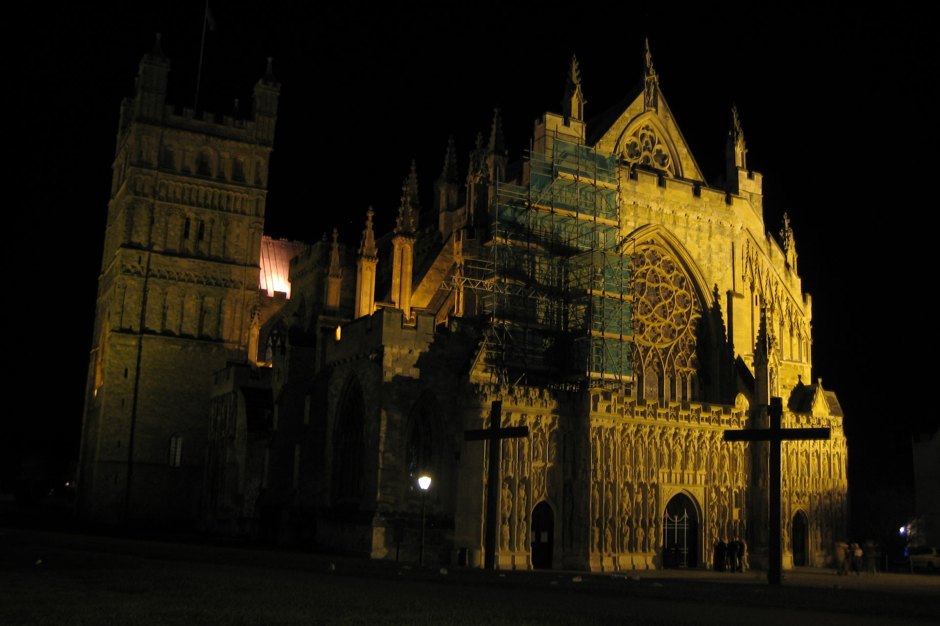 Particulart popped up for Holy Ground at Exeter Cathedral