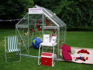 Particulart: Greenhouse Effect, Low Carbon Oxford Week, 18 June 2016