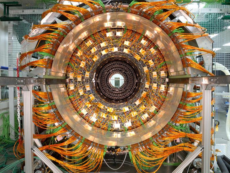 Large Hadron Collider mandala