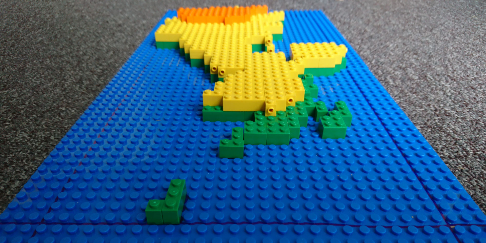 UK Climate Projections 2018 in Lego