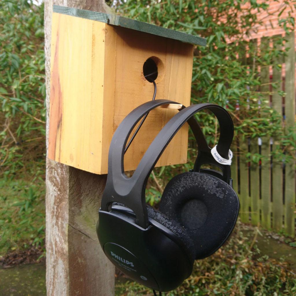 Listening to Silent Spring birdbox