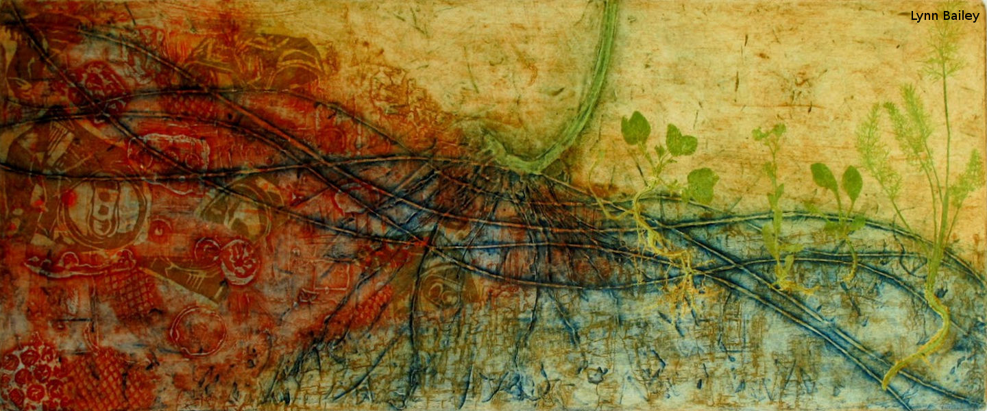 """Lynn Bailey: """"The Works IV"""" from the """"Regeneration"""" series"""