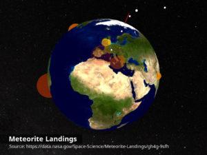 NASA meteorite landings