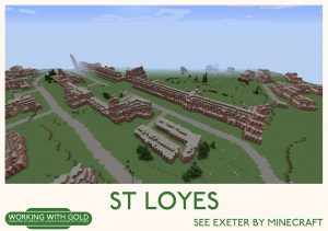"""See Exeter by Minecraft"" Digby Hospital"