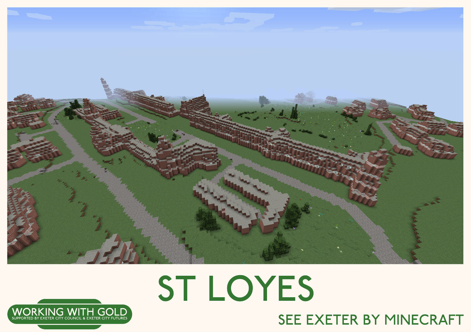 """""""See Exeter by Minecraft"""" Digby Hospital"""
