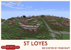"""See Exeter by Minecraft"" Heavitree Quarries"