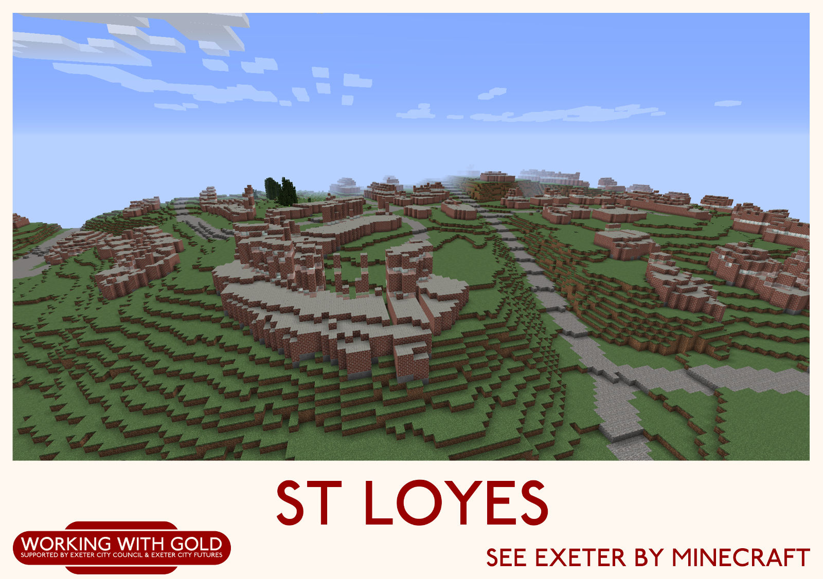 """""""See Exeter by Minecraft"""" Heavitree Quarries"""