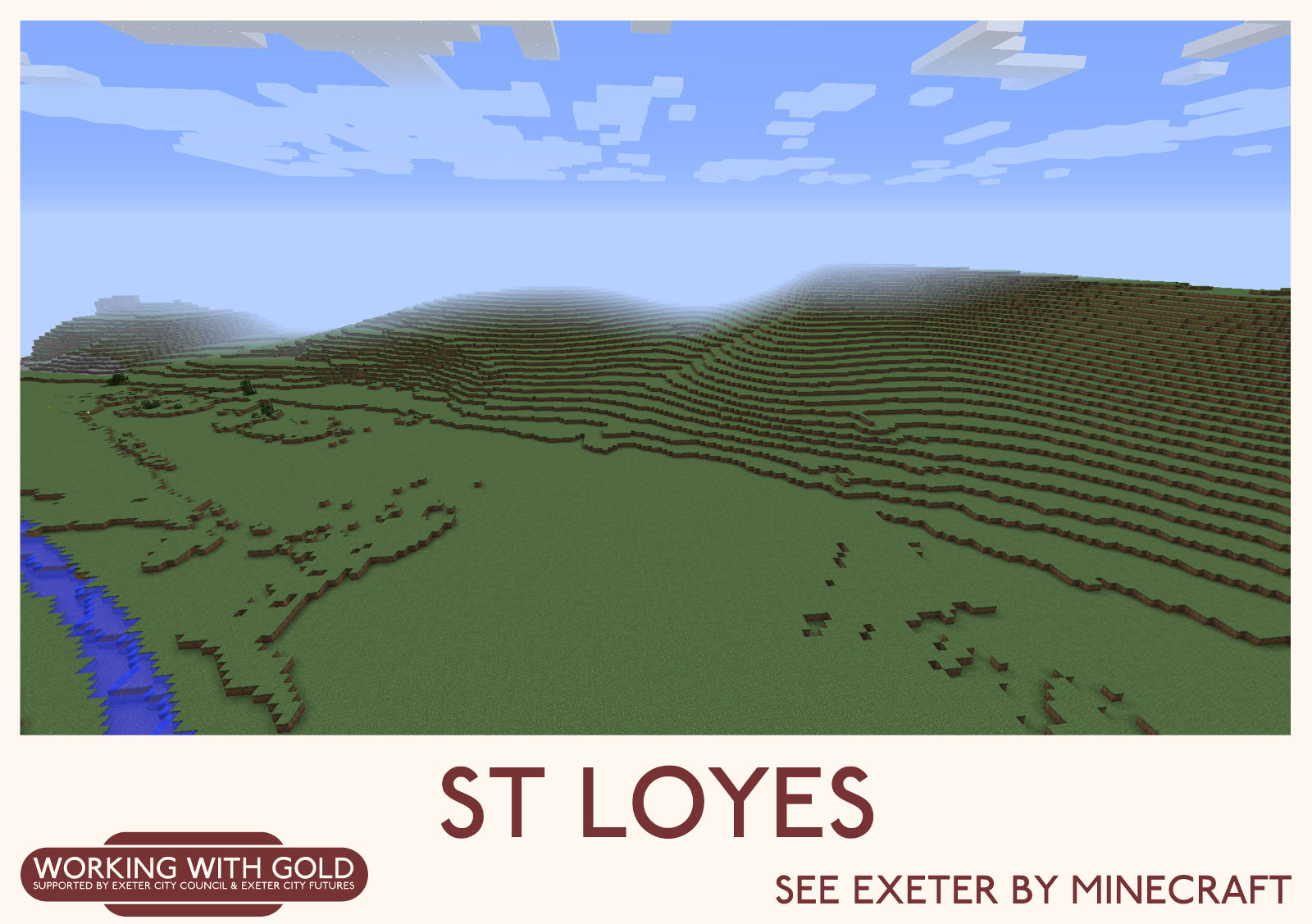 """""""See Exeter by Minecraft"""" Ludwell Valley Park"""