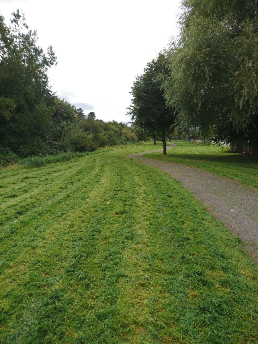 The winding path...