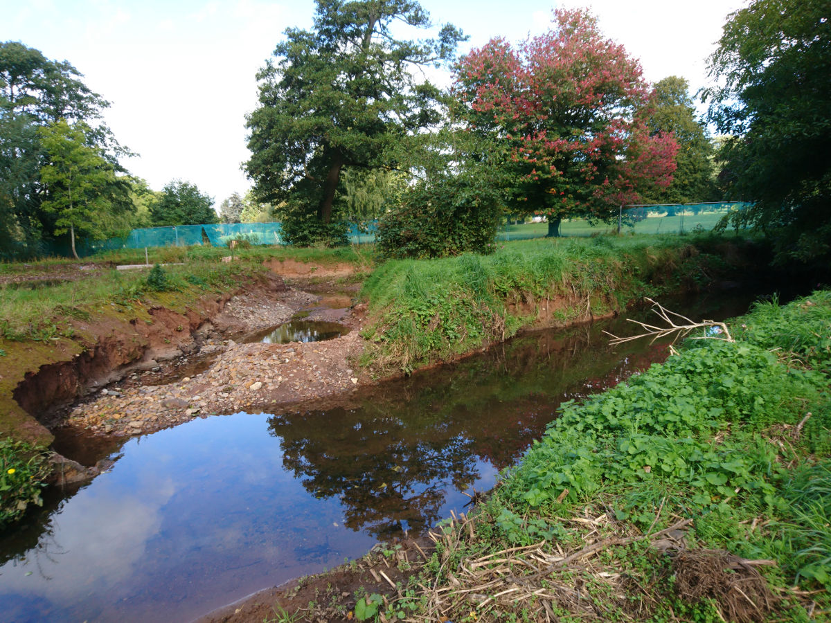 Environment Agency channels and pools