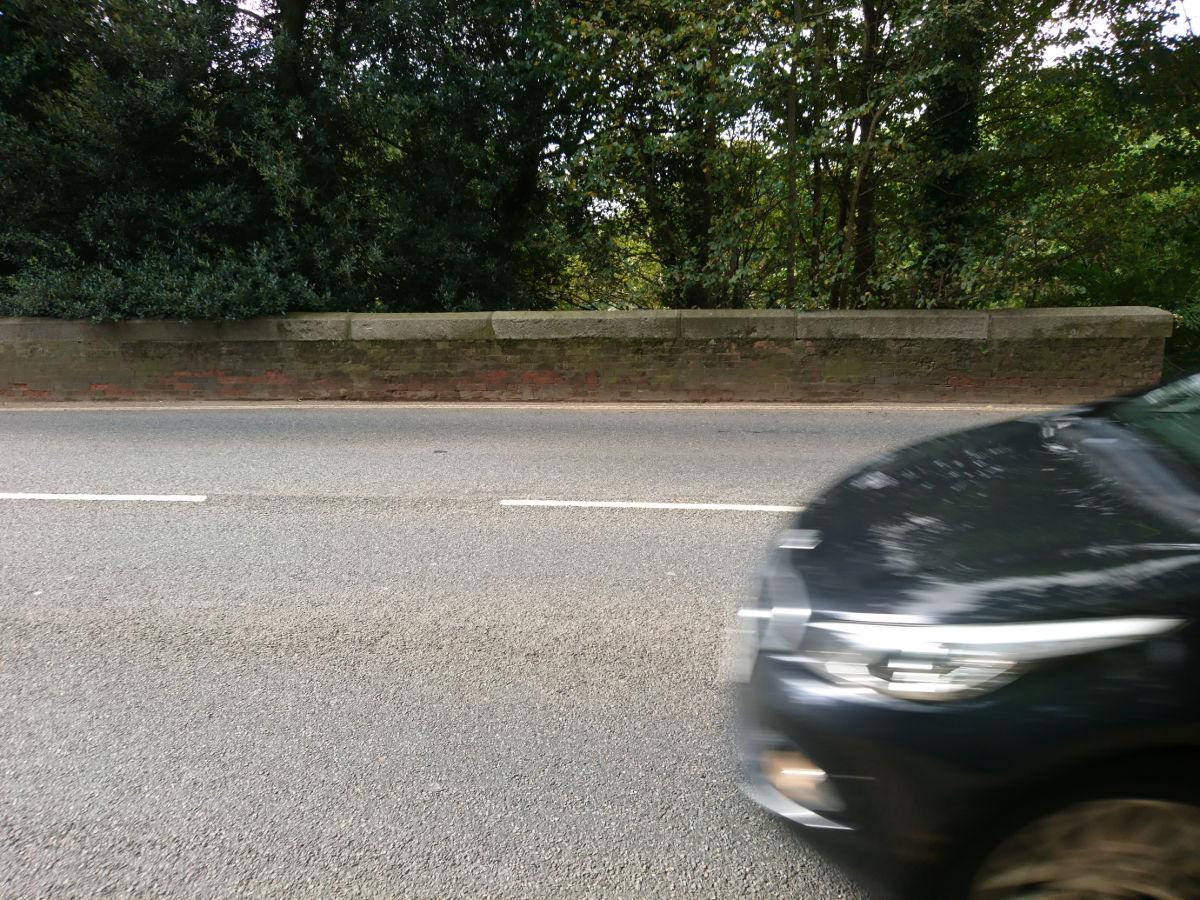 Back over Topsham Road to the bridge