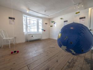 Particulart: Up in the Air at the Glorious Art House gallery