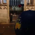 Particulart Up in the Air pop-up in Exeter Cathedral