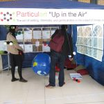 Particulart Up in the Air pop-up at the Weather, Art and Music Festival 2016