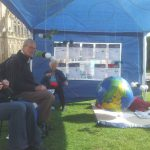 Particulart pop-up at the Green Fair.