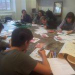 Designing the graffiti colour scheme