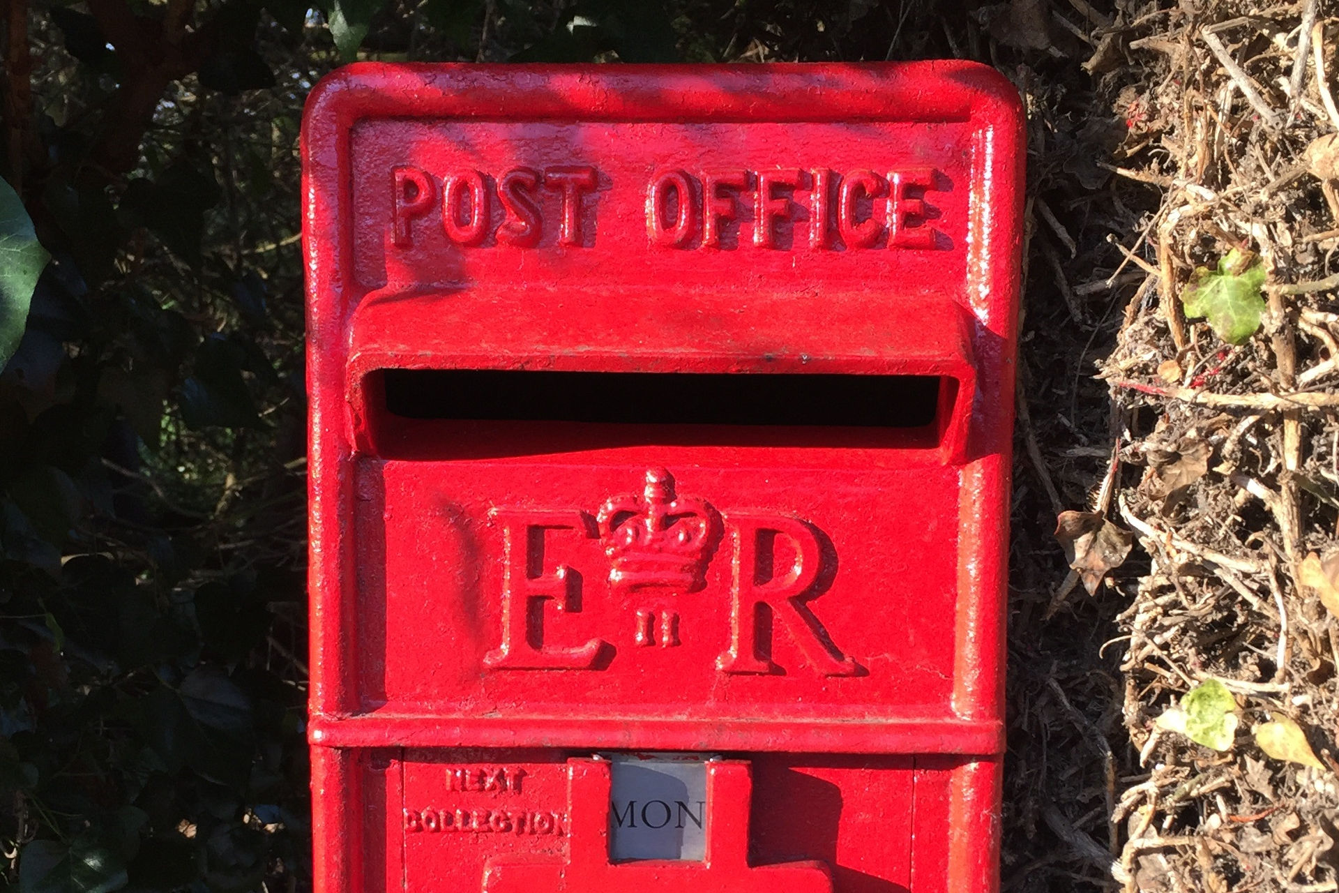 Not a pillar box. Credit: DebEditor on Pixabay.