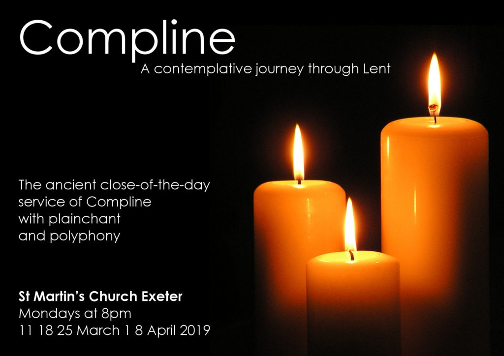 Compline: A contemplative journey through Lent