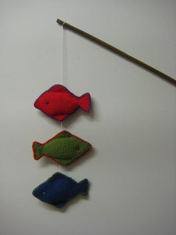 RGB fish on the line