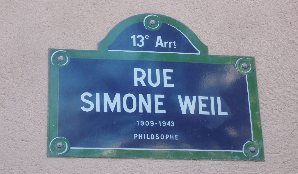 Rue Simone Weil, Paris. Photo credit: Ordifana75 on Wikimedia Commons.
