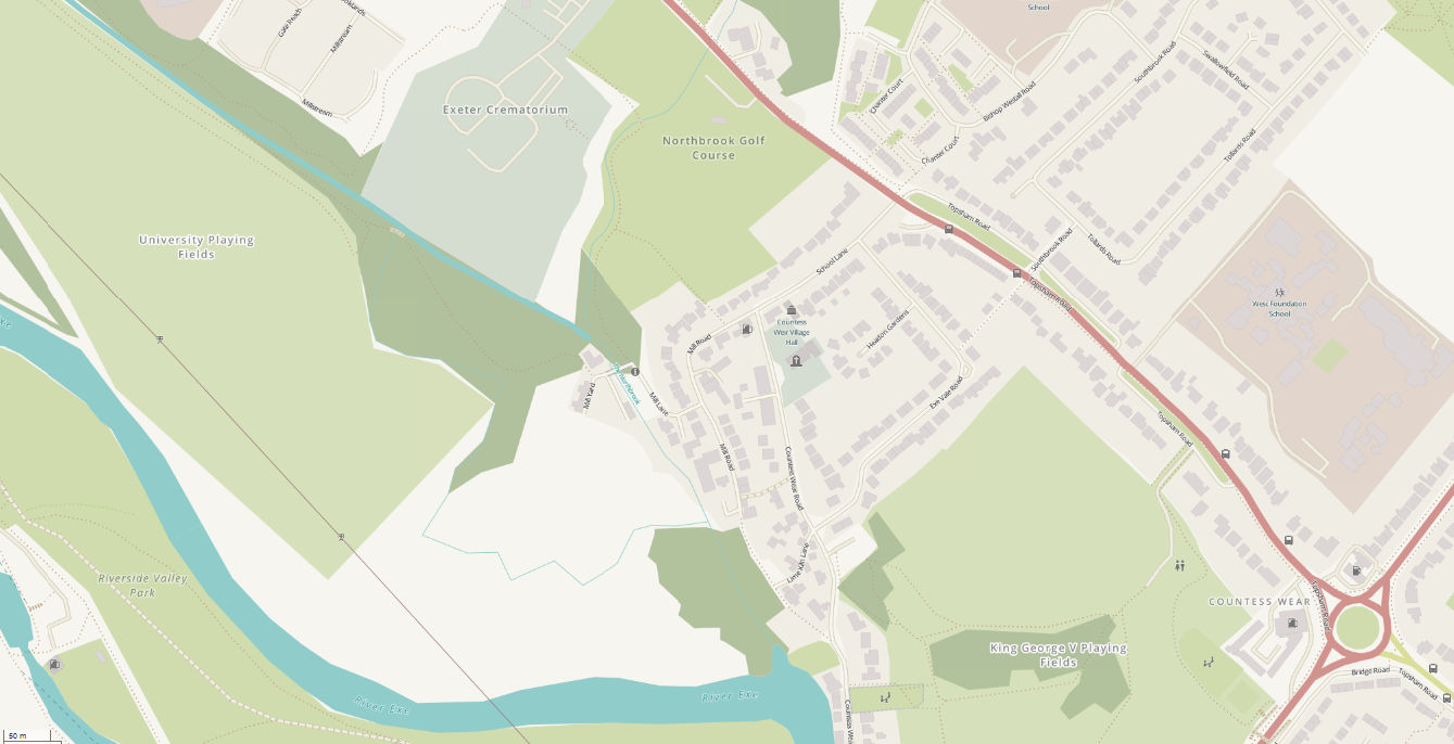 Section 1 - Exe to Topsham Road