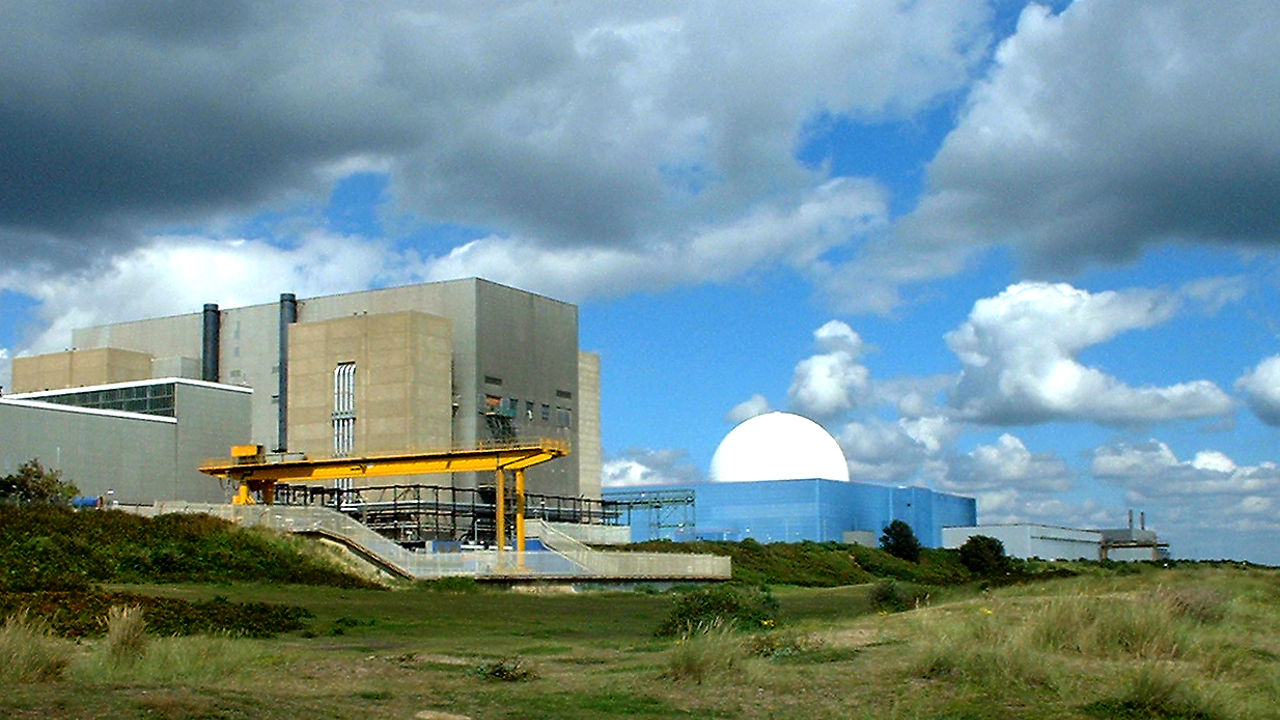 Sizewell Power Station. Photo credit: Les Powell on Free Images.