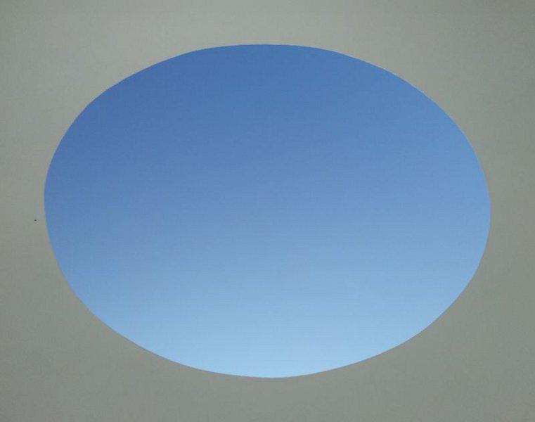 Tewlwolow Kernow skyspace at Tremenheere Sculpture Park, Penzance