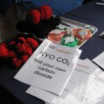 Knit-your-own carbon dioxide