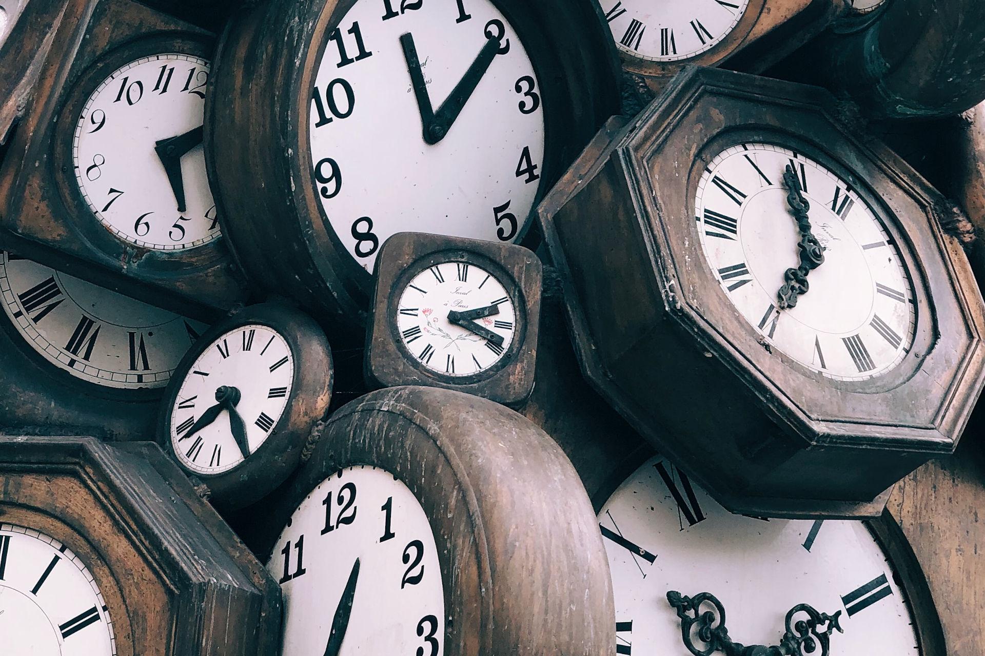Time. Photo credit: Jon Tyson on Unsplash.