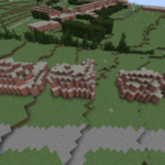 Warwick Road in Minecraft before